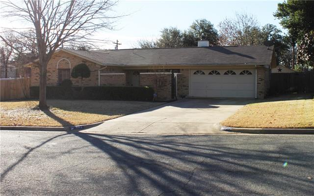 801 Timberhill Drive, Hurst in Tarrant County, TX 76053 Home for Sale